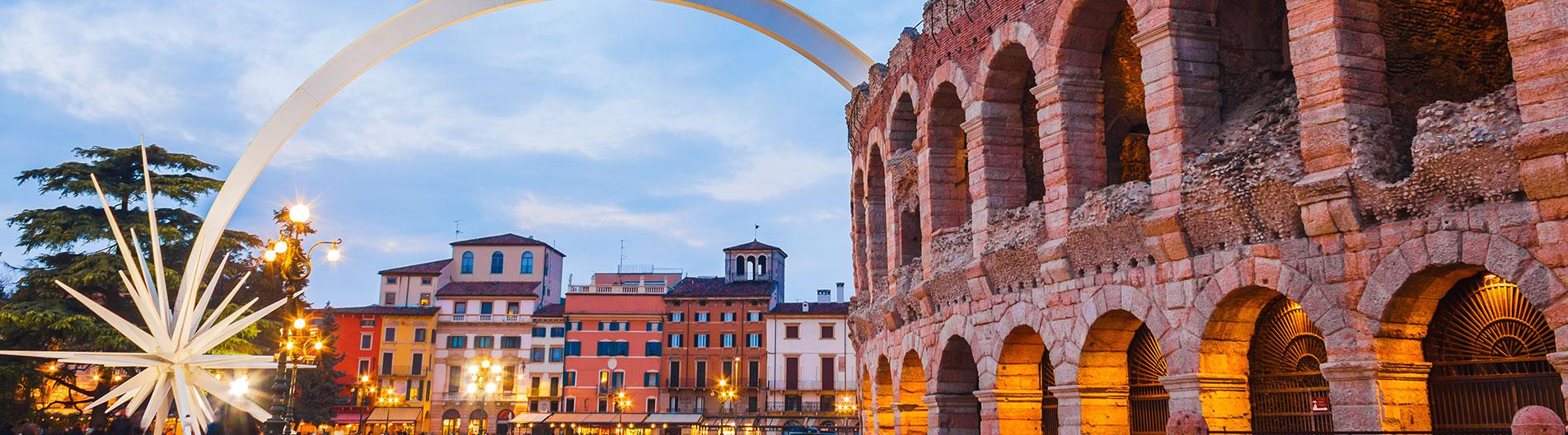 Verona im November zwischen Kunst und Weihnachtszauber