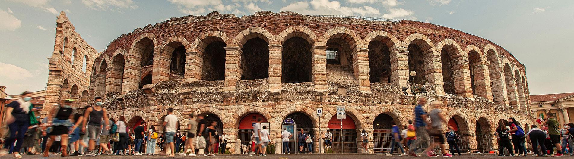 Auch die Arena von Verona startet wieder sicher!