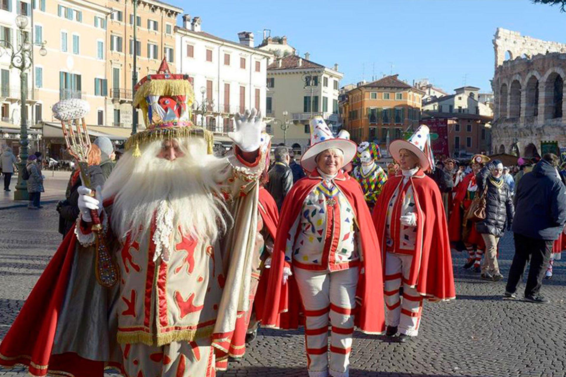 Carnival in Verona