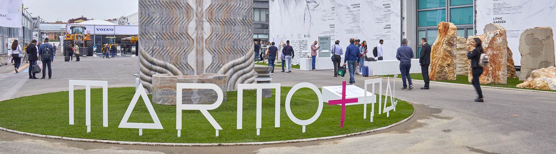 Marmomac is back!  Verona is hosting the international marble fair again