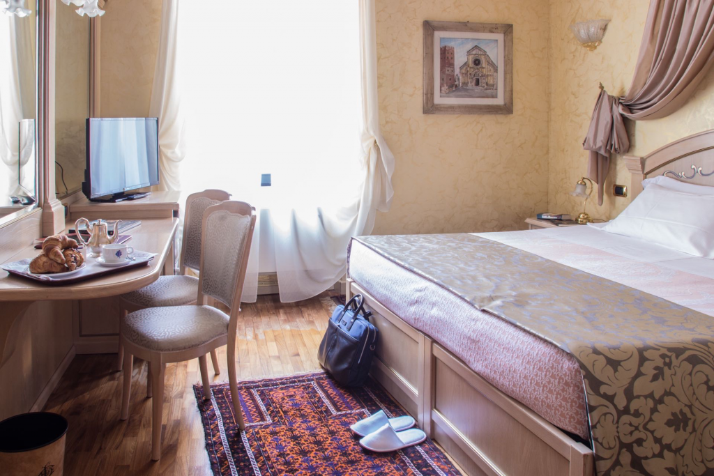 Staying at hotel colomba d'Oro is so comfortable that you never want to leave